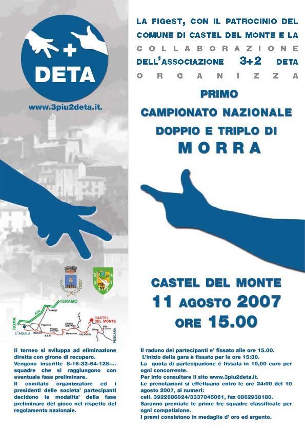 Locandina Morra 2007